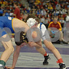 2013 Iowa High School State Individual Tournament - 1A <br /> Semifinals -<br /> 106 Tanner Greenwald (Wilton) dec Jordan Schmitz (Don Bosco) 2-1