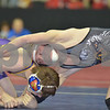 2013 Iowa High School State Individual Tournament - 1A <br /> Semifinals -<br /> 106 Taylor Curtis (Underwood) dec Zach Fowler (Alburnett) 2-1