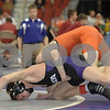 2013 Iowa High School State Individual Tournament - 2A <br /> Semifinals<br /> 106 Patrick Woods (West Delaware) maj dec Jake Wulf (OA-BCIG) 13-0