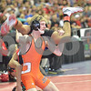 2013 Iowa High School State Individual Tournament - 2A <br /> 1st Round  - 113 - Zach Less (West Delaware) dec Chris Hopkins (Harlan) 9-5