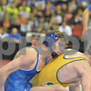 2013 Iowa High School State Individual Tournament - 2A <br /> 1st Round  - 120 - Elliot Henderson (West Liberty) dec Grant Sherman (Saydel) 6-3