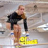 Senior Amy Hein does the bars at SM West on Sept. 6
