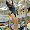 Junior Grace Gregory does the bars at SM West on Sept. 6