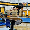 Senior Katie Sigmend vaults at SM West on Sept. 6