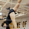 Senior Caitlen Chen does the beam at SM West on Sept.6