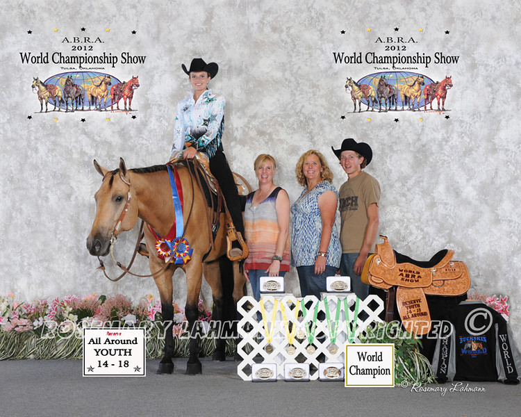 Youth 14 - 18 Reserve All Around<br /> <br /> Austin Brewer of Nampa, Idaho<br /> <br /> No. 1368
