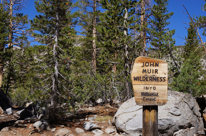 "Any time you see a sign with ""John Muir Wilderness"" on it, be prepared for incredible beauty ahead!"
