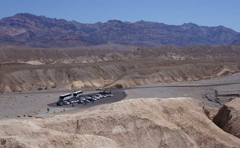 Parking at Zabriskie Point