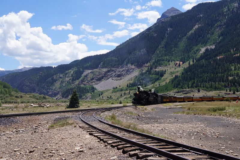 Durango-Silverton Narrow Guage Railroad.