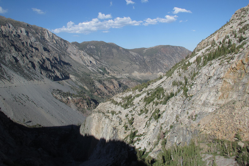 Tioga Pass Road on the left.