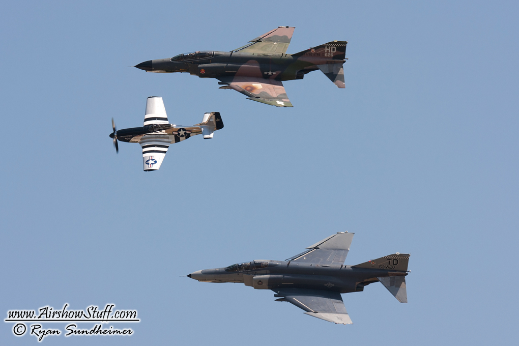 F-4 Phantom Heritage Flight