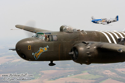 70th Doolittle Reunion B-25 Gathering - Urbana, OH