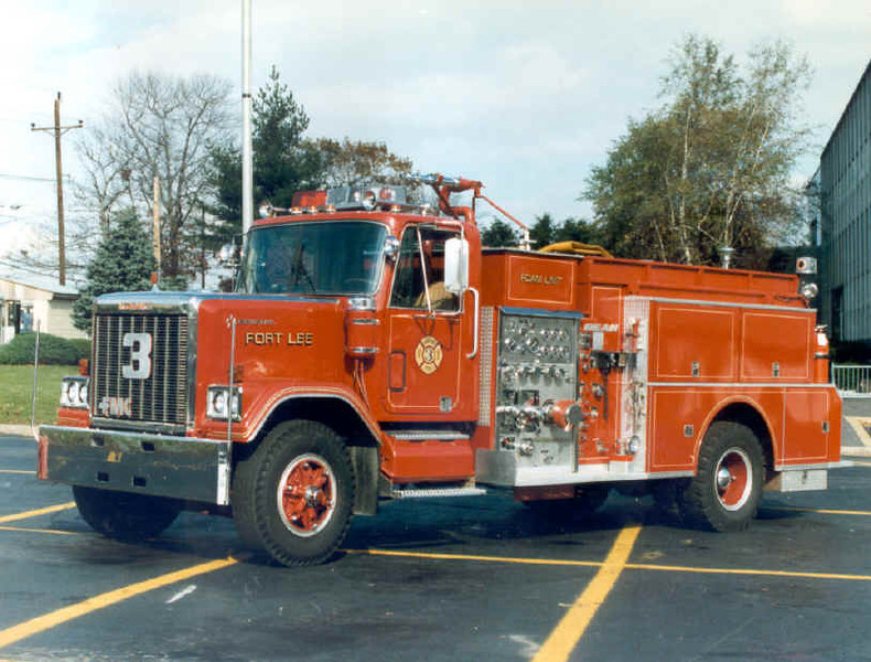 Fort Lee E3 1980 General Bean 1500gpm 1000gwt 500gft a