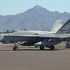 USN F18 Hornet #410 Edwards AFB, CA #164266