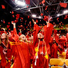 "Fairview 2012 Graduation152.JPG Ayana Otteman, left center, and Erika Petroy, join their Fairview High School classmates in throwing their caps up to celebrate their graduation.<br /> For more photos and a video of Fairview, go to  <a href=""http://www.dailycamera.com"">http://www.dailycamera.com</a>.<br /> Cliff Grassmick / May 20, 2012"