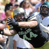 "University of Colorado's Nick Kasa barely misses a catch under Ryan McMahon's coverage during a game against Sacramento State on Saturday, Sept. 8, at Folsom Field in Boulder. For more photos of the game go to  <a href=""http://www.dailycamera.com"">http://www.dailycamera.com</a><br /> Jeremy Papasso/ Camera"