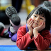 "Dalia Arch-Andorski, 2, listens to the stories being read during Story Time at the Boulder Public Library in Boulder, Colorado February 23, 2012. CAMERA/MARK LEFFINGWELL.........See video of Story Time at  <a href=""http://www.dailycamera.com"">http://www.dailycamera.com</a>"
