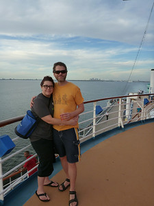 The start of our 7 Day Western Caribbean Cruise on the Carnival Legend.