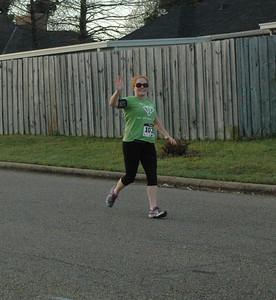 Mile Marker 5&12 on Half/ mile 2 on 5K - Rebekah Thebo