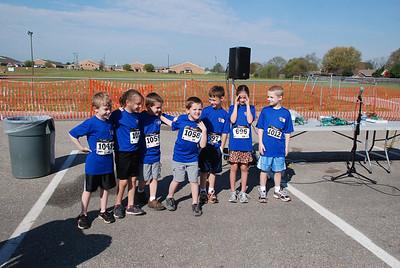 One Mile Run - start & finish - A. Thebo