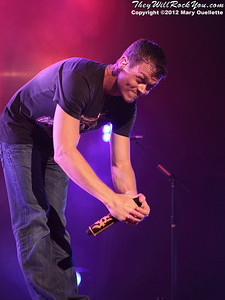 3 Doors Down performs on the Gang of Outlaws Tour at the Verizon Wireless Arena in Manchester, N.H. on May 25, 2012