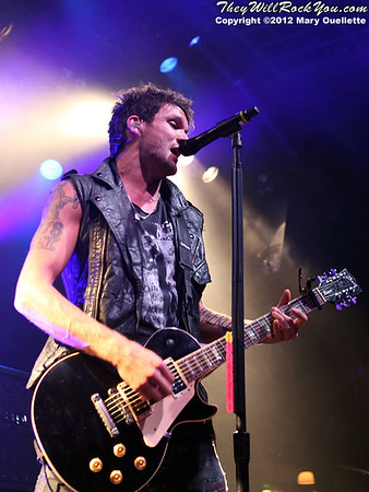 Boys Like Girls perform at the Casino Ballroom in Hampton Beach, NH on September 13, 2012