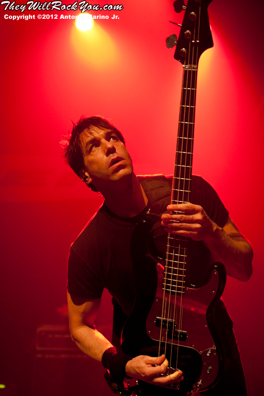Phil Buckman of Filter performs on March 8, 2012 at The Gramercy Theatre in New York, NY