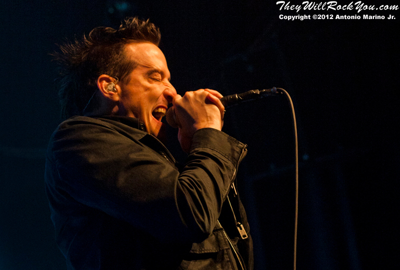 Richard Patrick of Filter performs on March 8, 2012 at The Gramercy Theatre in New York, NY