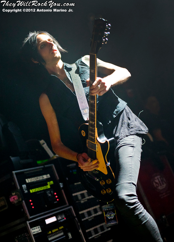 Jonathan Radtke of Filter performs on March 8, 2012 at The Gramercy Theatre in New York, NY