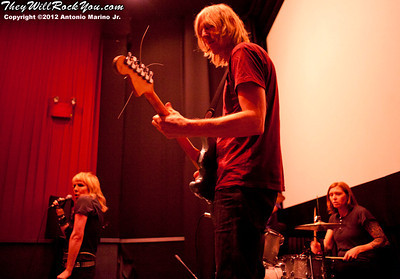 Hit So Hard movie premiere; Patty Schemel; Eric Erlandson; Miss Guy
