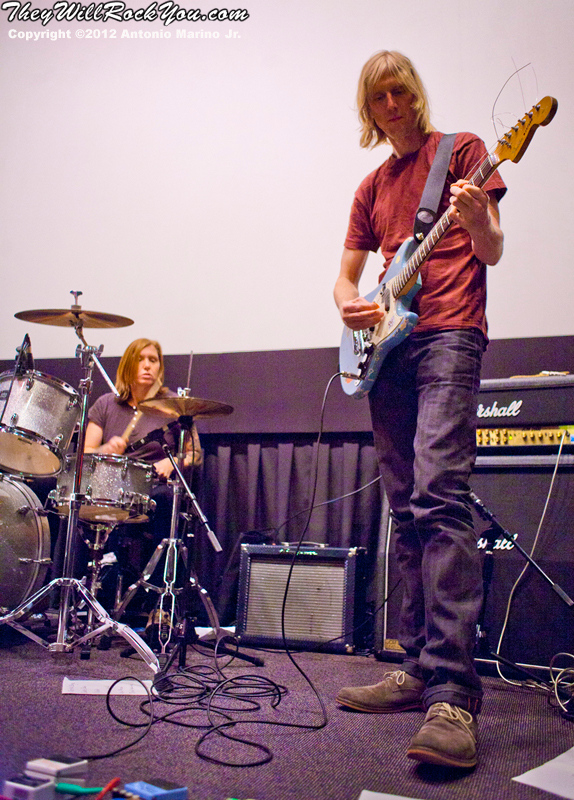 Hit So Hard movie premiere;  Patty Schemel; Eric Erlandson