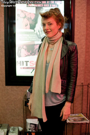 Hit So Hard movie premiere Melissa Auf der Maur
