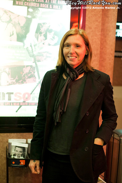 Hit So Hard movie premiere Patty Schemel
