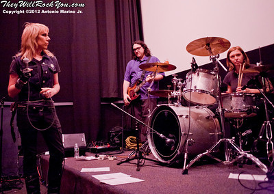 Hit So Hard movie premiere; Patty Schemel; Eric Erlandson; Miss Guy; James McNew