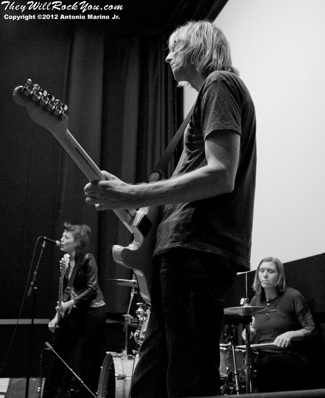 Hit So Hard movie premiere; Patty Schemel; Eric Erlandson; Melissa Auf Mer der Maur; Hole