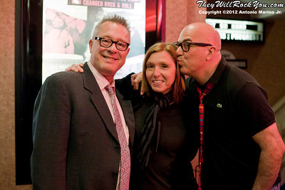 Hit So Hard movie premiere  Producer Todd Hughes, Patty Schemel, filmmaker P. David Ebersole