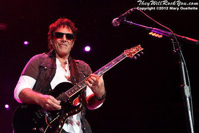 "Neal Schon of Journey performs on November 3, 2012 in support of ""Eclipse"" at the Verizon Wireless Arena in Manchester, N.H."