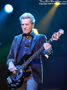 "Ross Valory of Journey performs on November 3, 2012 in support of ""Eclipse"" at the Verizon Wireless Arena in Manchester, N.H."
