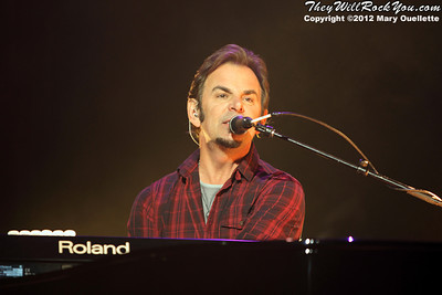 "Jonathan Cain of Journey performs on November 3, 2012 in support of ""Eclipse"" at the Verizon Wireless Arena in Manchester, N.H."