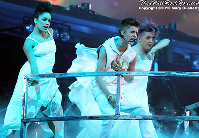 Justin Bieber brings his 'Believe' tour to the TD Garden in Boston, MA on November 10, 2012