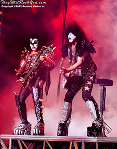 KISS performs at the Nikon Jones Beach Theater on September 22, 2012