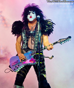 Paul Stanley of KISS performs at the Nikon Jones Beach Theater on September 22, 2012