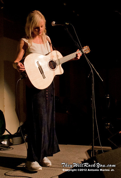 """Laura Marling performs on October 25, 2012 during her """"Working Holiday Tour"""" at the Colony Cafe in Woodstock, NY"""