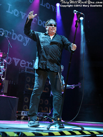 Loverboy Perform  on November 3, 2012  at the Verizon Wireless Arena in Manchester, N.H.