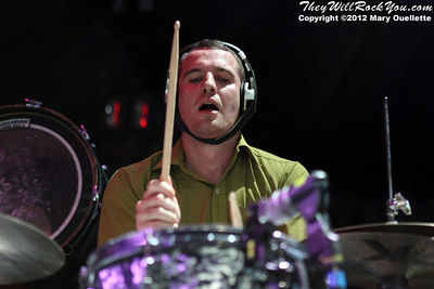 MuteMath Performs on the Honda Civic Tour on August 14, 2012 at the Comcast Center in Mansfield, Mass