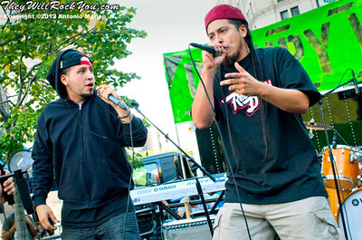 Rebel Diaz performs at the Occupy Wall Street Anniversary Concert - September 16, 2012