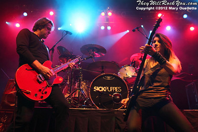 Sick Puppies Perform on September 20, 2012 at the House of Blues in Boston, MA
