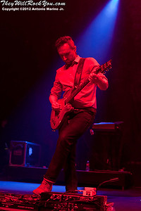 Noel Hogan of The Cranberries performs on May 2, 2012 at Terminal 5 in New York, NY