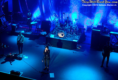 The Cranberries perform on May 2, 2012 at Terminal 5 in New York, NY
