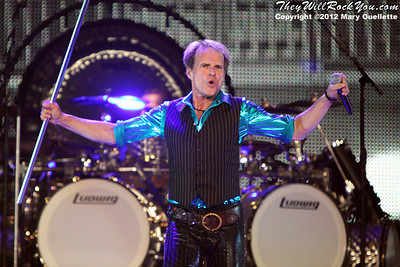 Van Halen performs on March 13, 2012 at the Verizon Wireless Arena in Manchester, NH